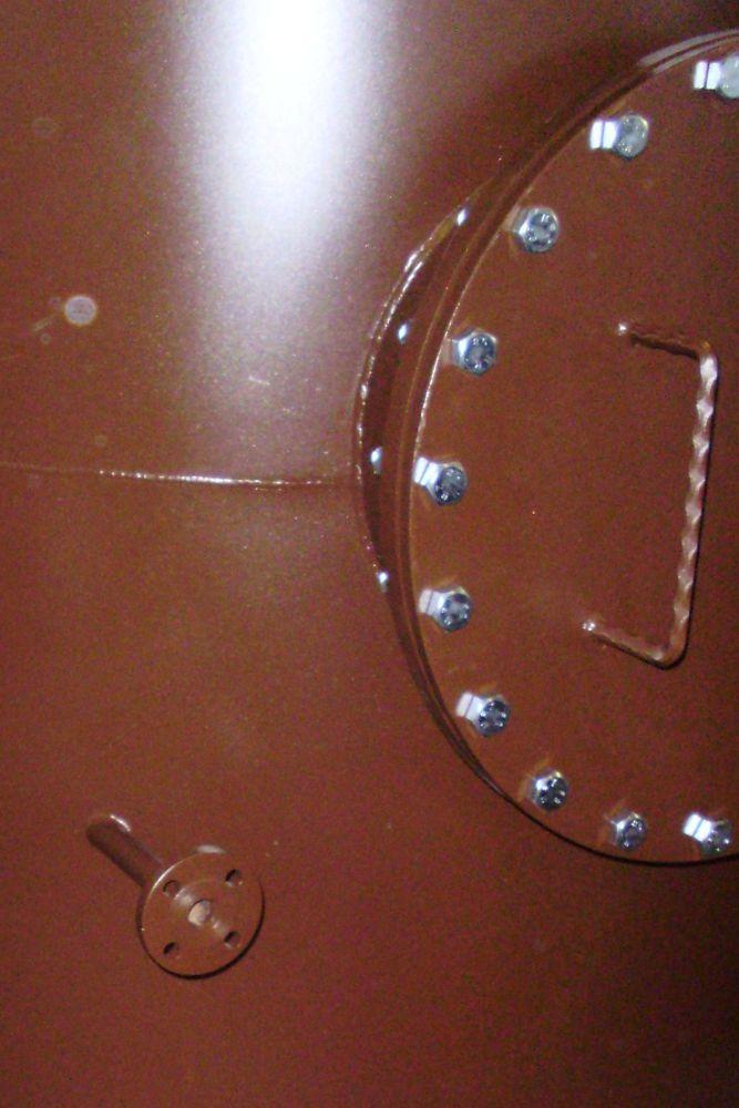 Stały zbiornik ciśnieniowy na olej - Zbiornik na płyny grupy II wg PED